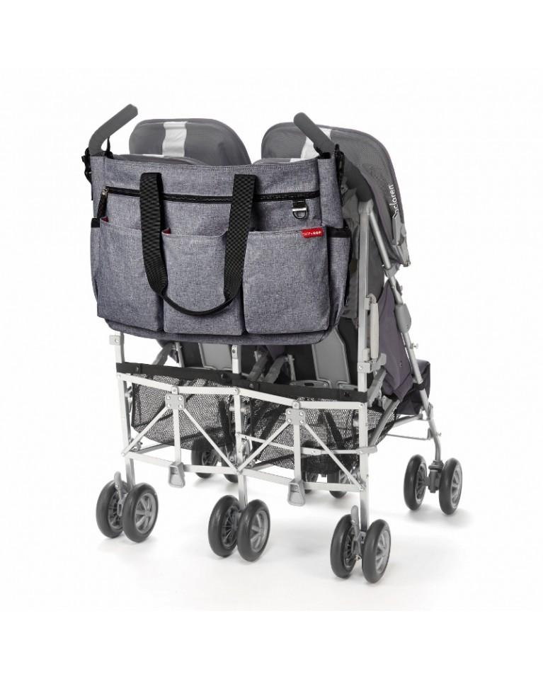 skip hop torba do wózka dla bliźniaków