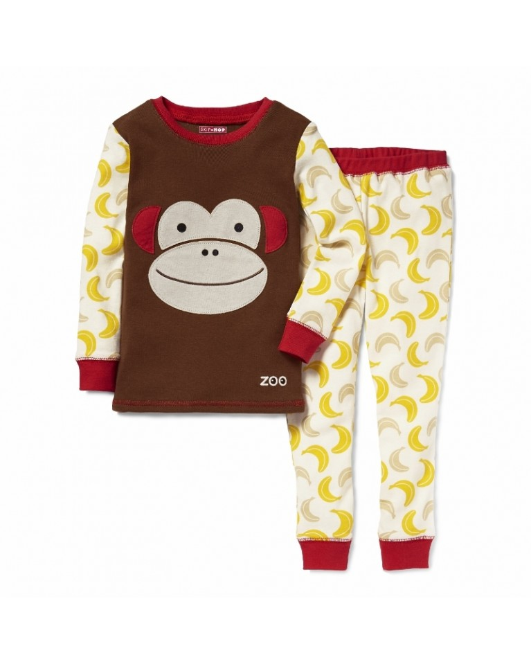 skip hop zoo piżamka małpa