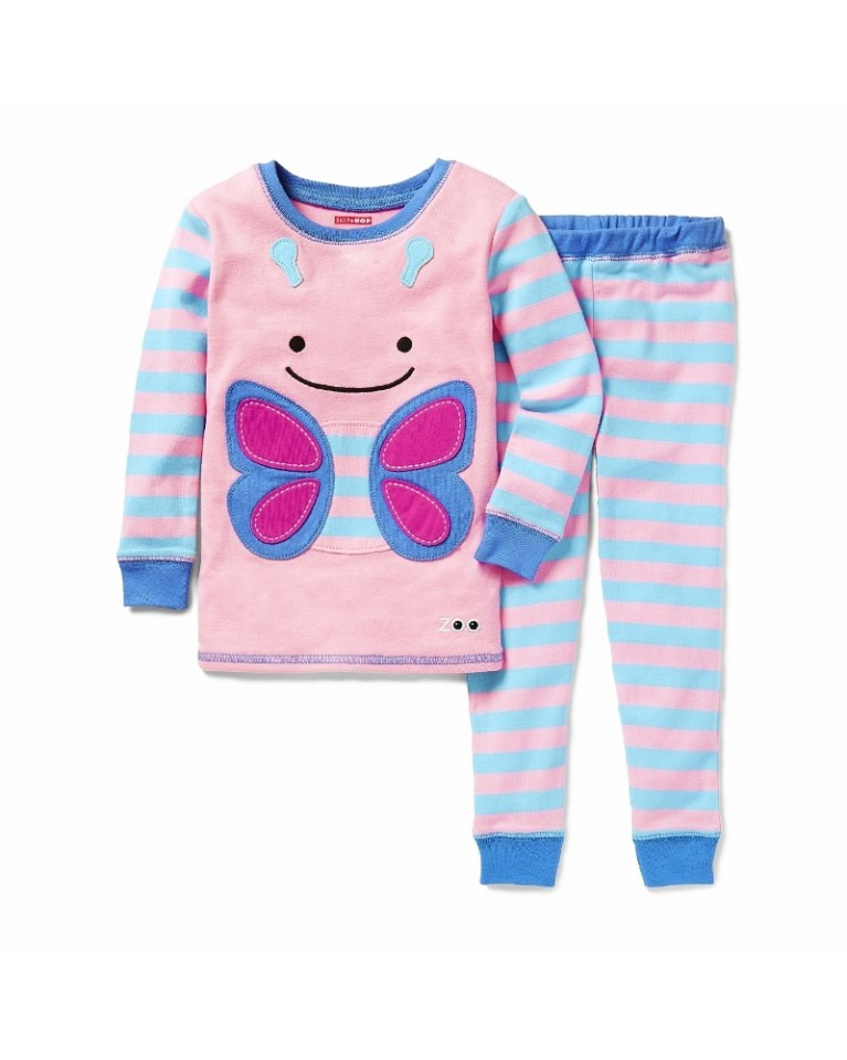 skip hop zoo piżama motyl