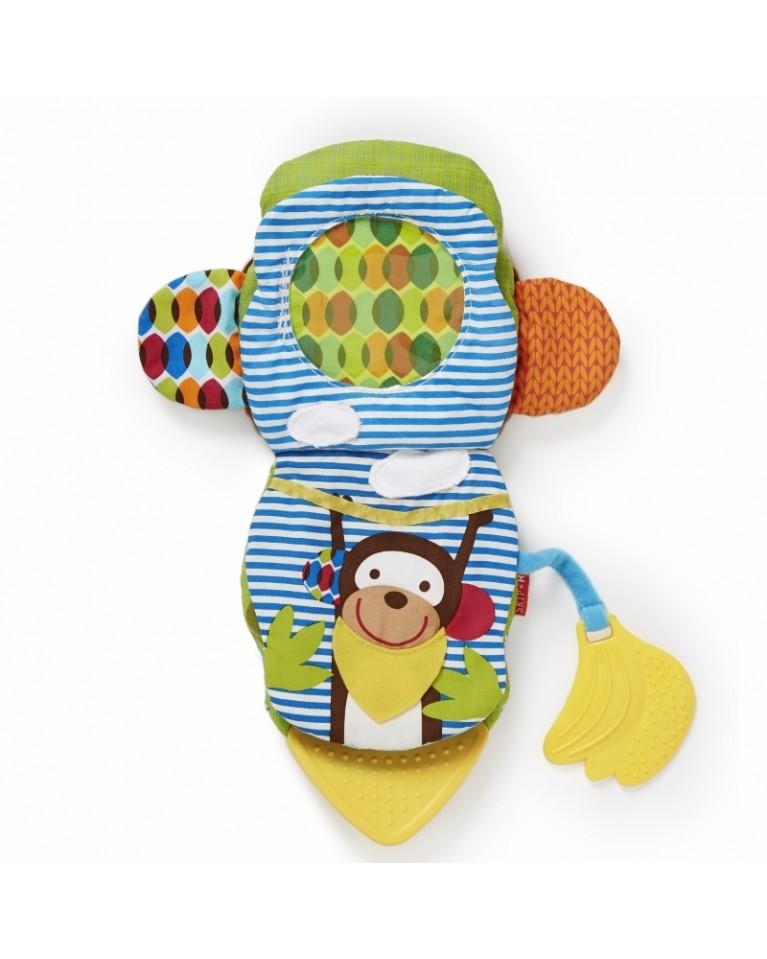 skip hop książeczka pacynka małpa