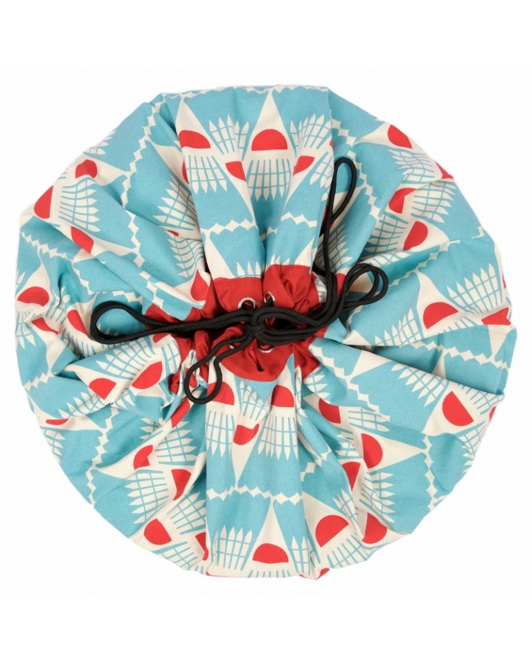 worek na klocki zabawki badminton