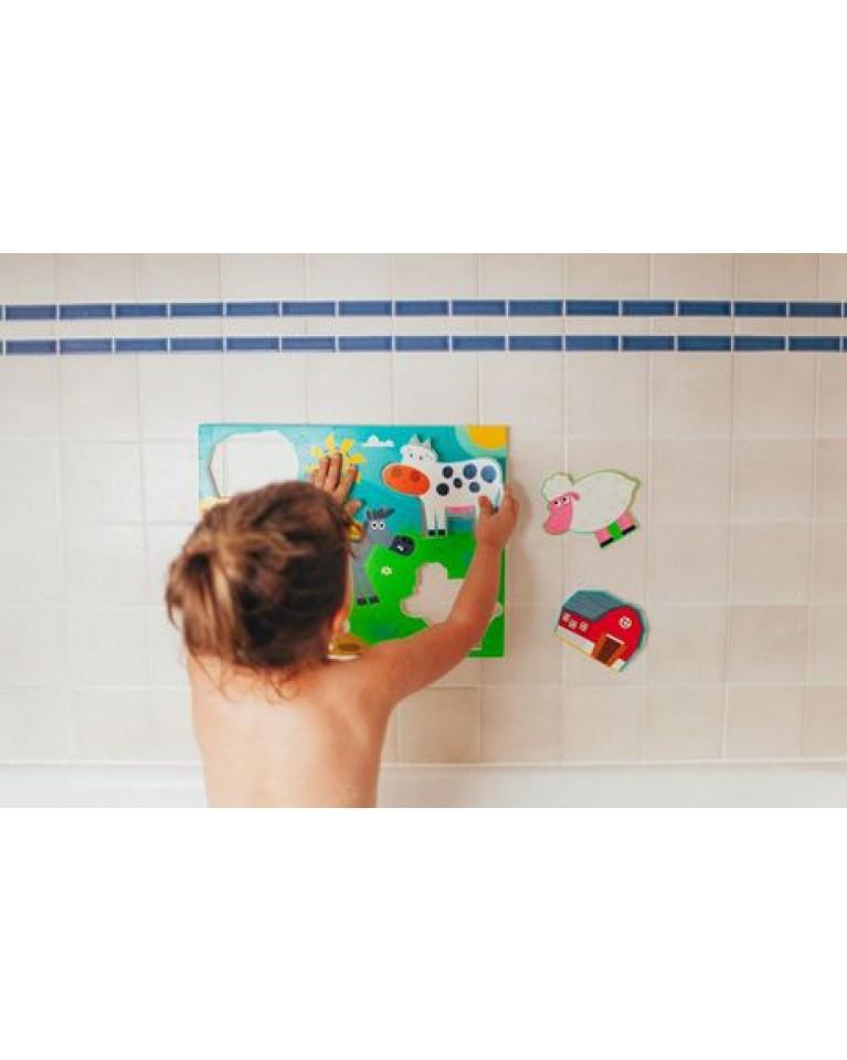 prince lionheart bath puzzle zoo farma