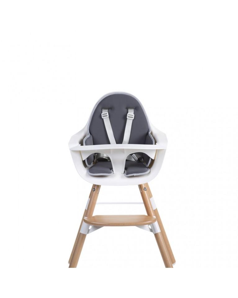 Childhome - Ochraniacz poduszka do Krzesełka Evolu 2 z neoprenu szara