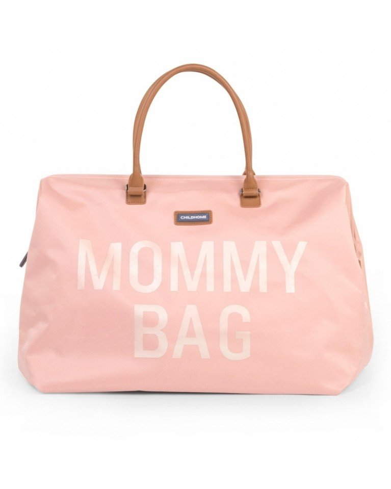 childhome torba mommy bag różowa