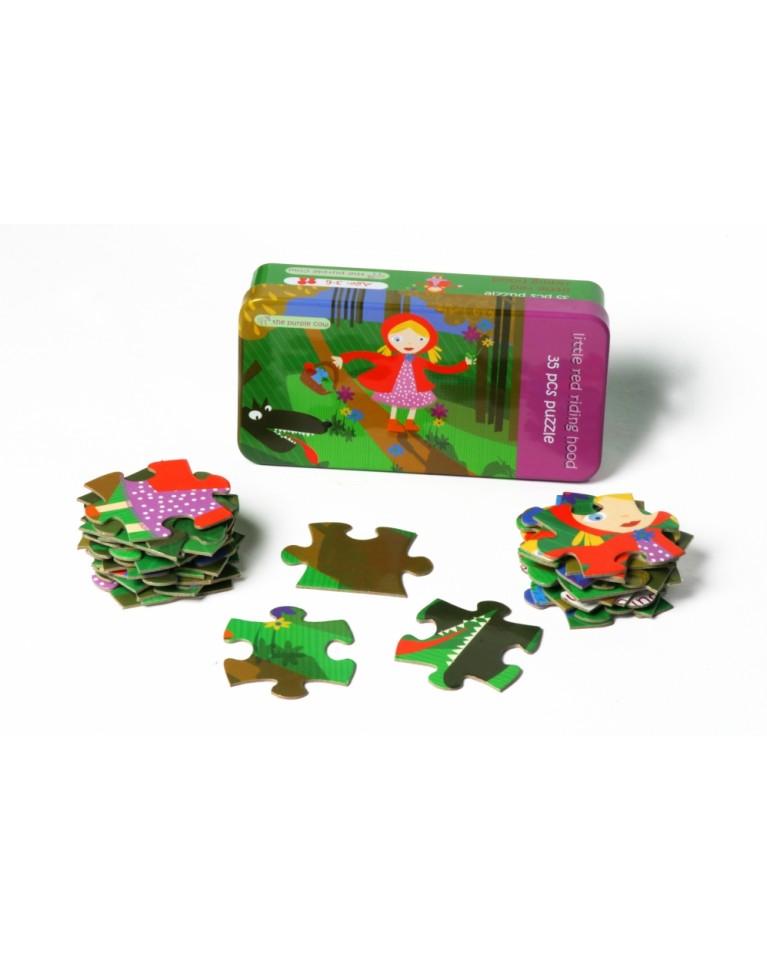 the purple cow puzzle czerwony kapturek