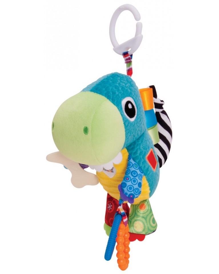 lamaze zawieszka do wózka dinozaur