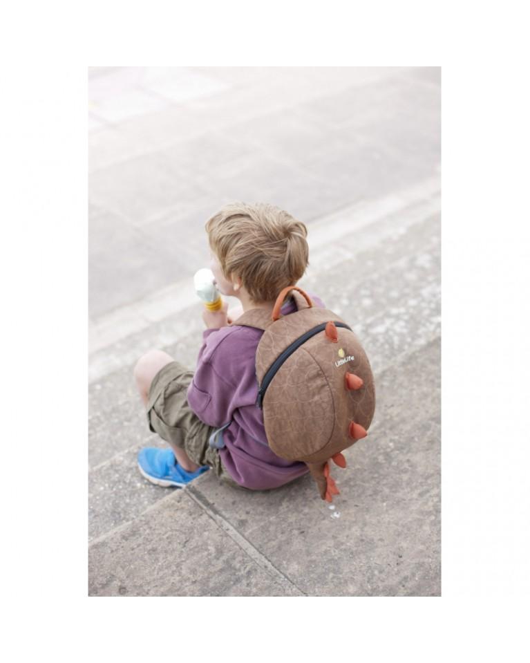 little life duży plecak animal dinozaur