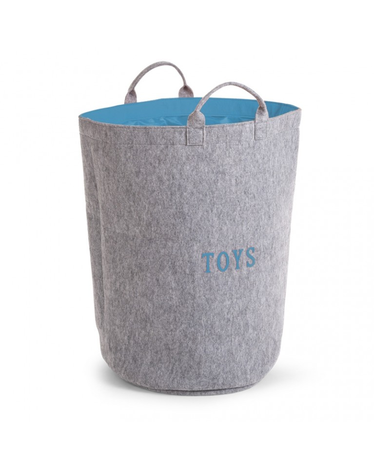 filcowa torba z uchwytami na zabawki childhome