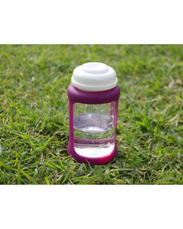 Szklana butelka dla dzieci 240ml berry