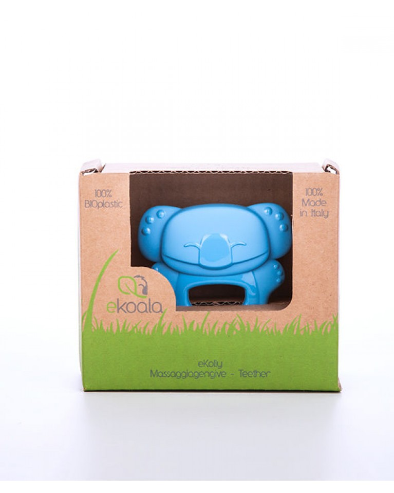 ekoala gryzak bioplastik niebieski
