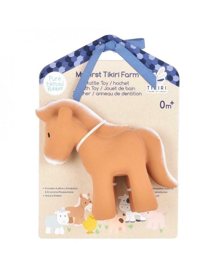 Gryzak zabawka Konik Farma w opakowaniu