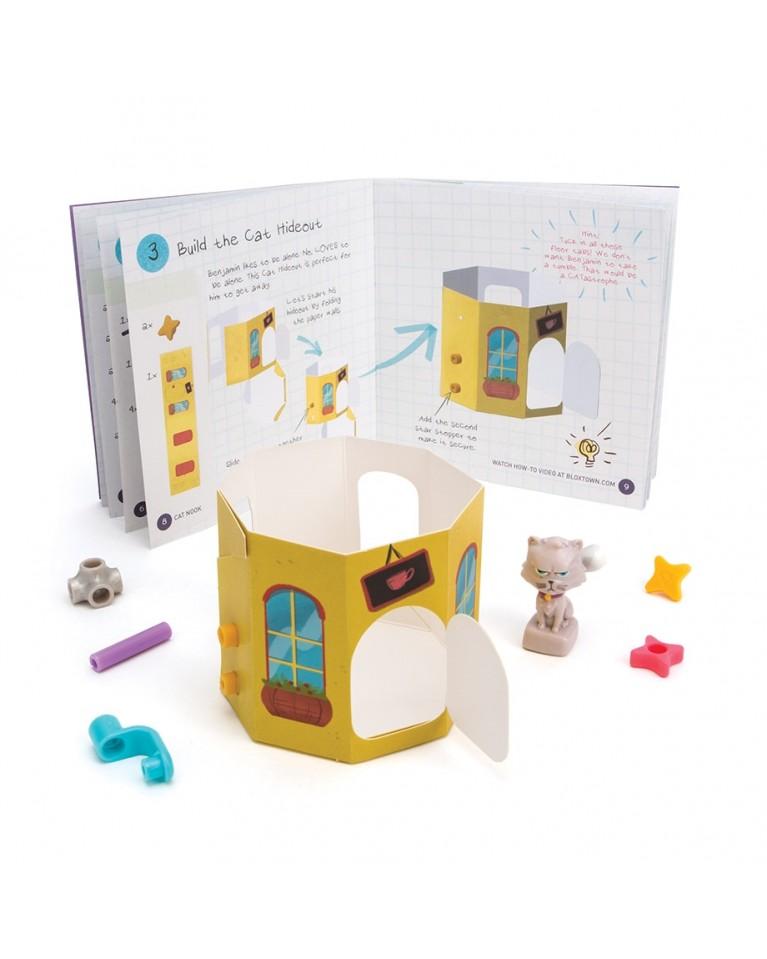goldieblox zabawka kreatywna kot beniamin