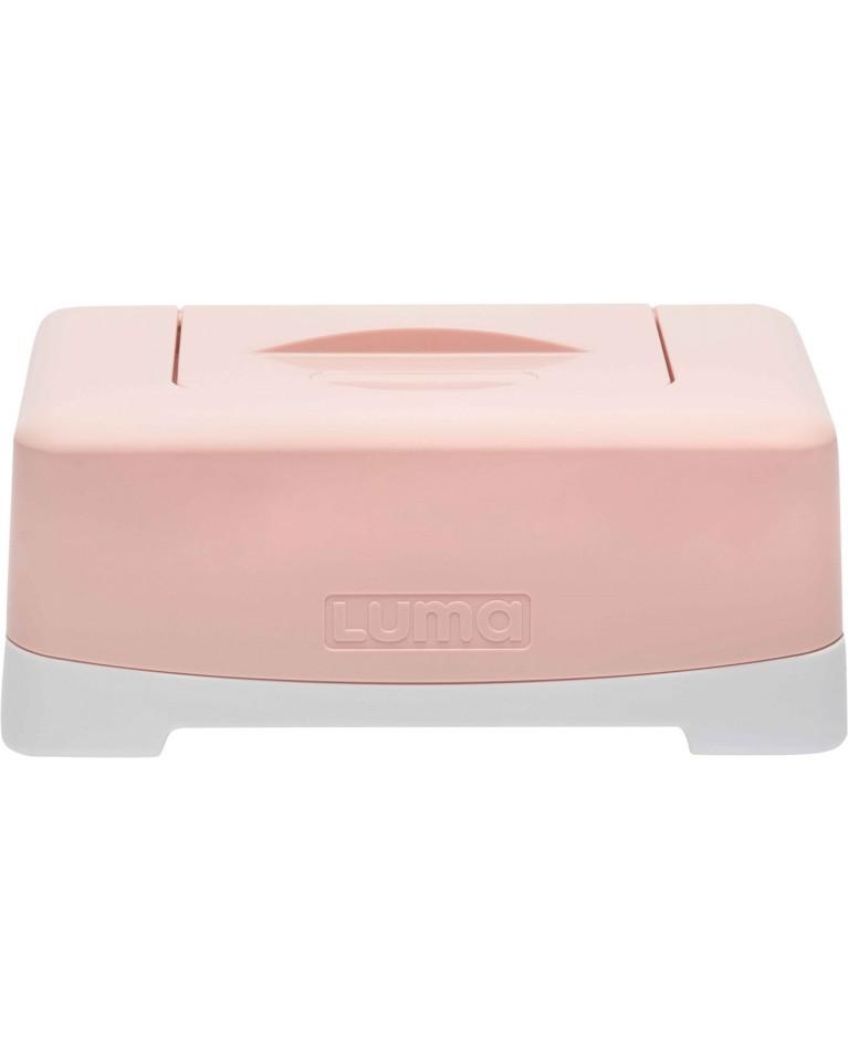 Luma pudełko na mokre chusteczki różowe