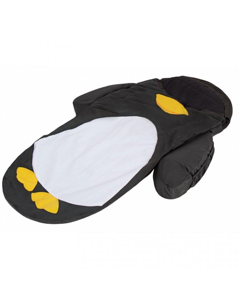 little life łóżeczko turystyczne ze śpiworem pingwin