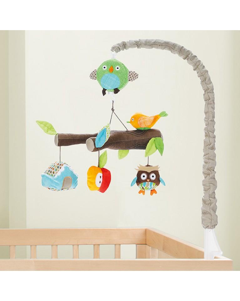 skip hop karuzela nad łóżeczko treetop