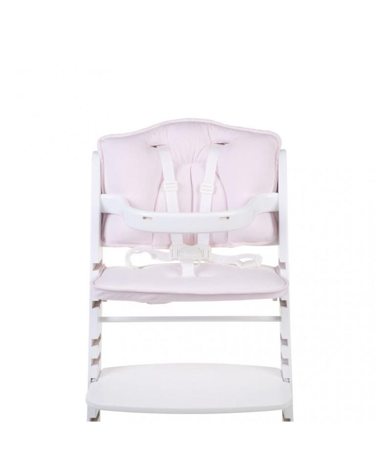 Ochraniacz-poduszka do krzesła jersey różowy