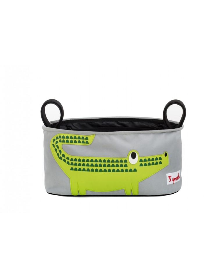 3 sprouts organizer do wózka krokodyl