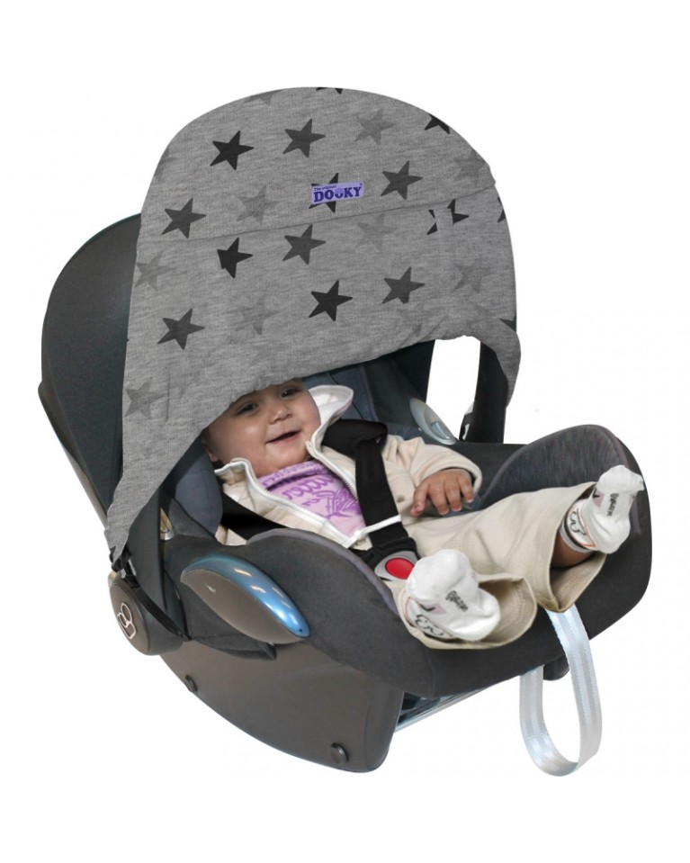 xplorys osłonka do wózka zero grey stars