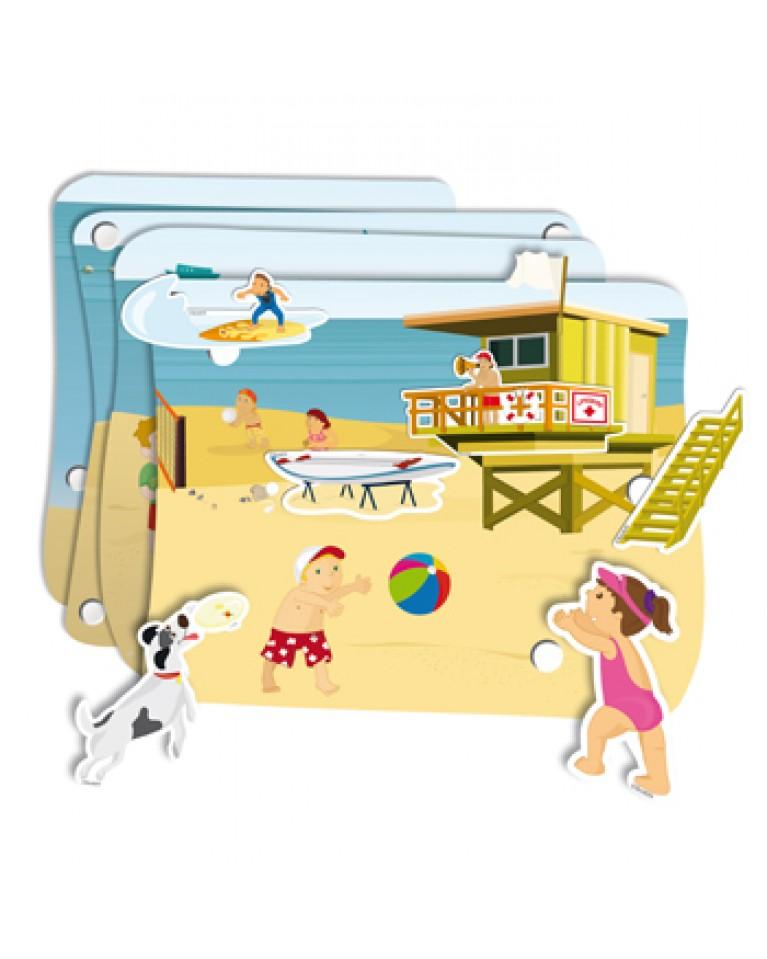 Plaża 3d