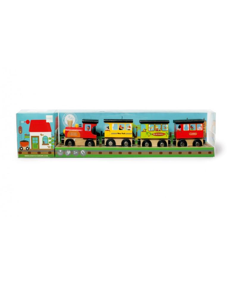 scratch magnetyczny pociąg