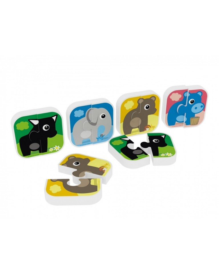 Milla Minis My first puzzle piankowe puzzle dla najmłodszych słoń