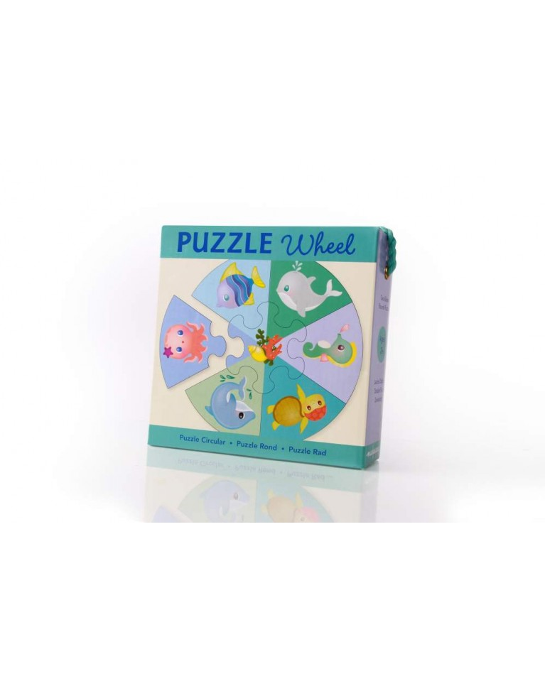mudpuppy puzzle koło morski świat
