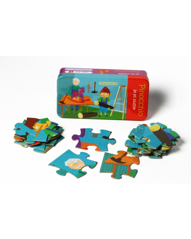 the purple cow pinokio puzzle