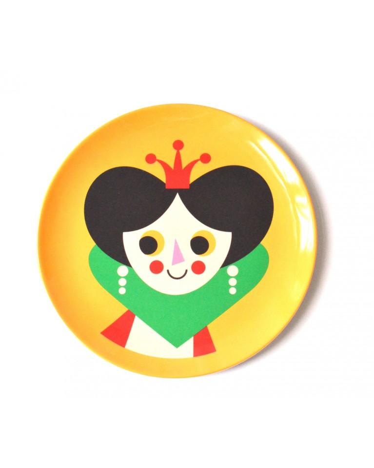 omm design talerzyk księżniczka