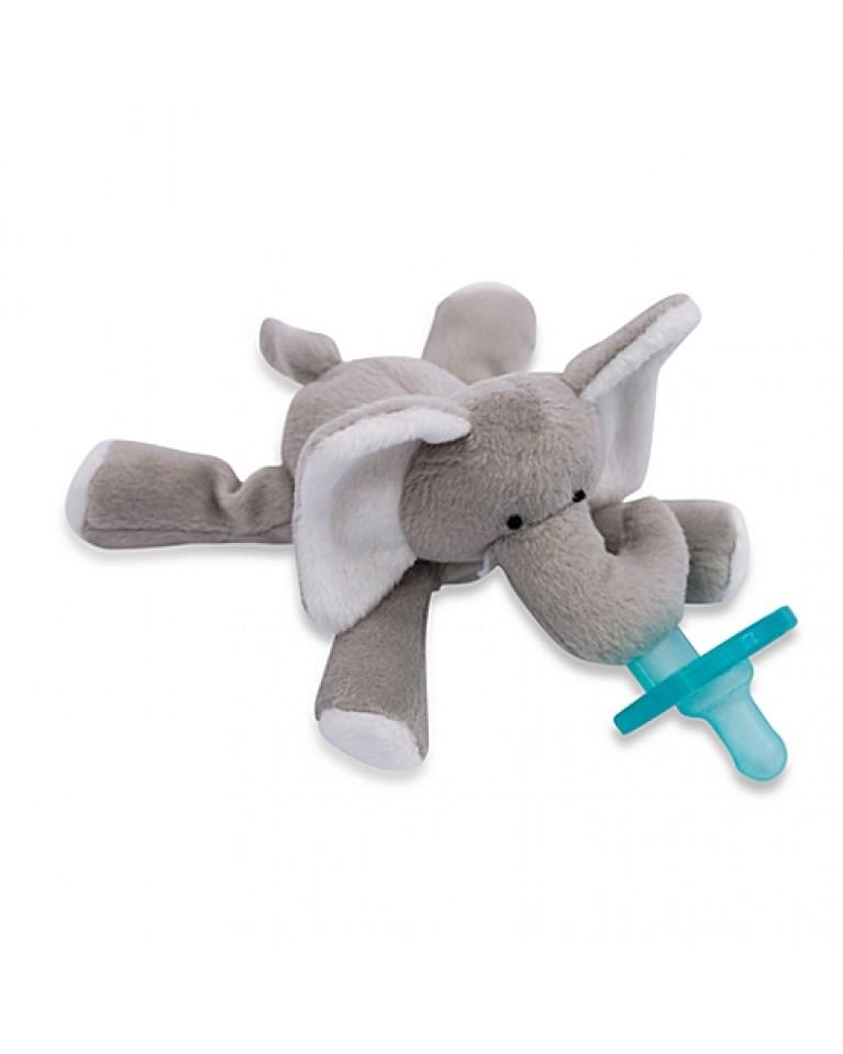 wubbanub smoczek i przytulanka słonik