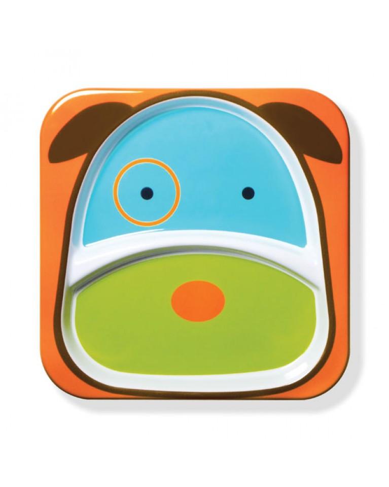 skip hop talerz dla dziecka pies