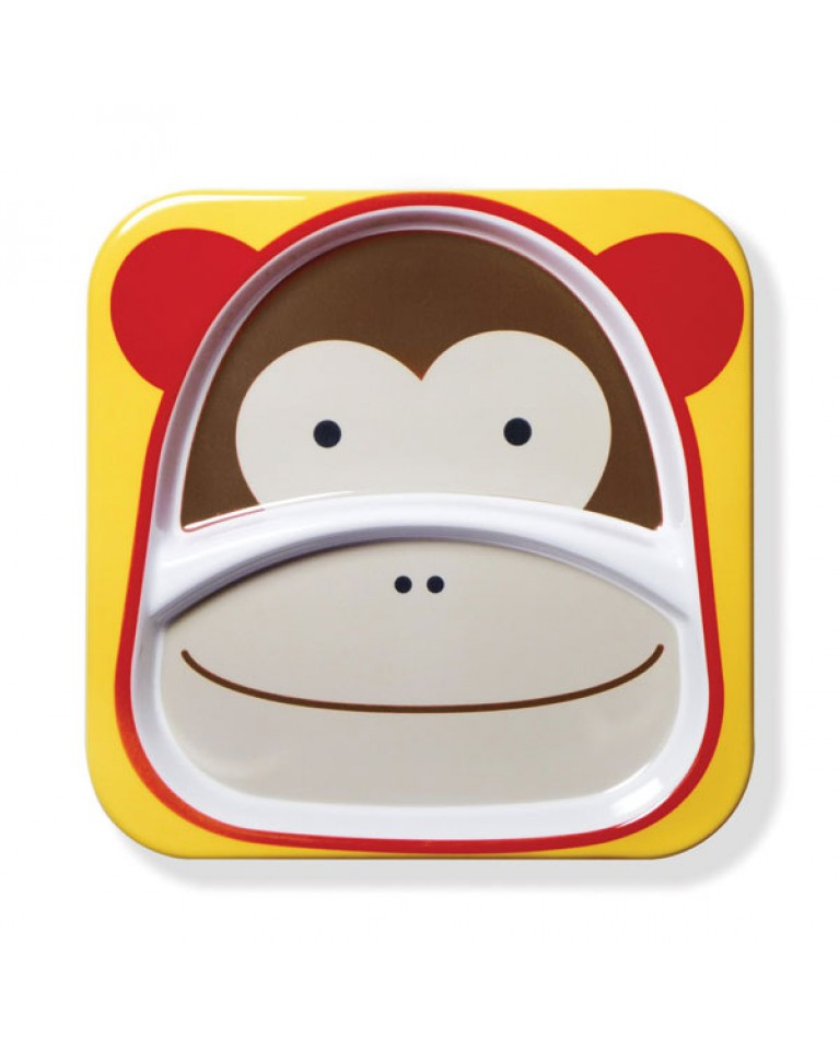 skip hop talerz zoo małpa
