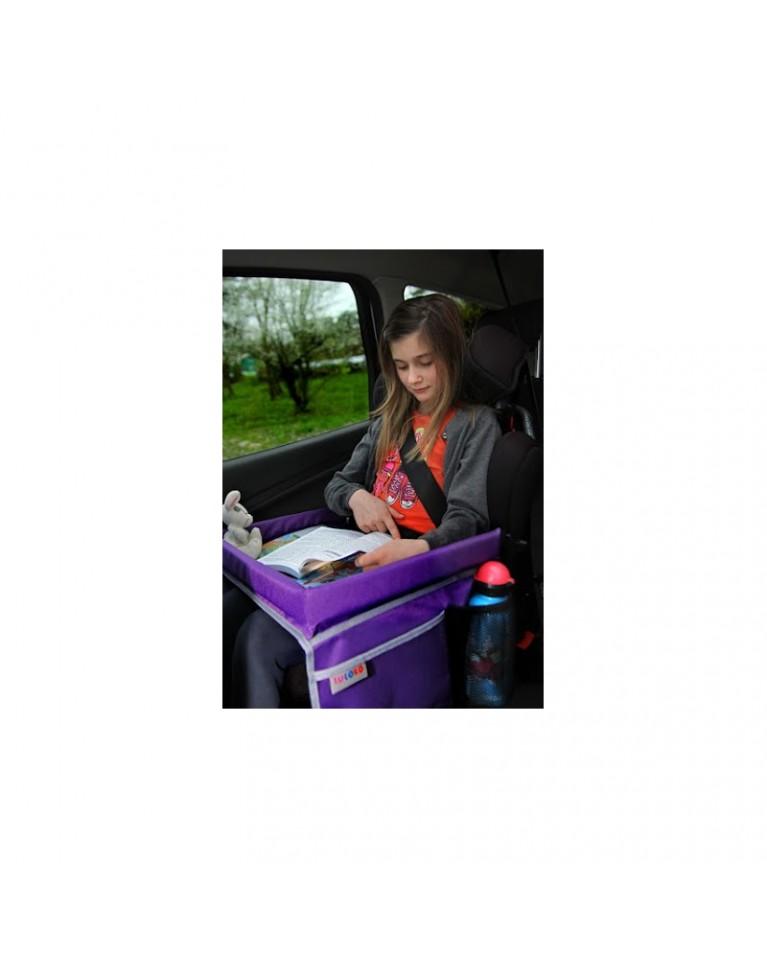 tuloko bezpieczny stolik podróżnika fioletowy