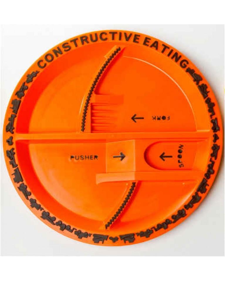 constructive eating talerz koparkowy