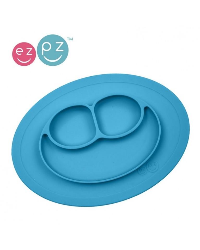 ezpz mini talerzyk niebieski