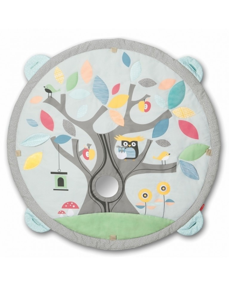 skip hop mata edukacyjna treetop pastel