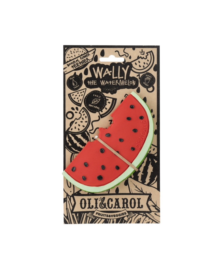 Oli&Carol gryzak Wally the Watermelon