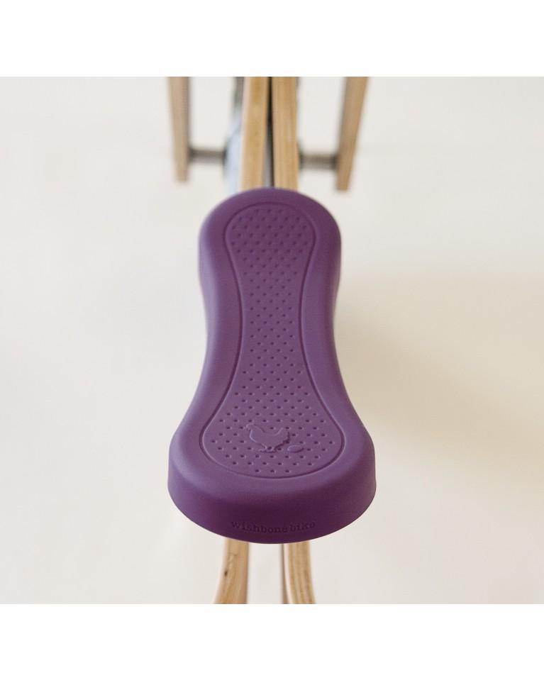 nakładka na rowerek biegowy wishbone purpurowa