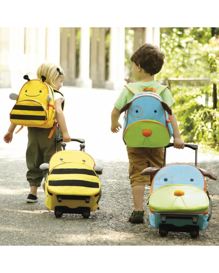 skip hop walizka zoo pszczółka