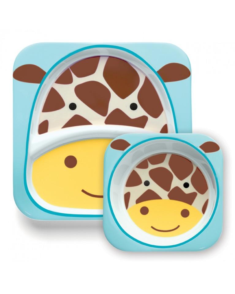 zestaw skip hop zoo żyrafa