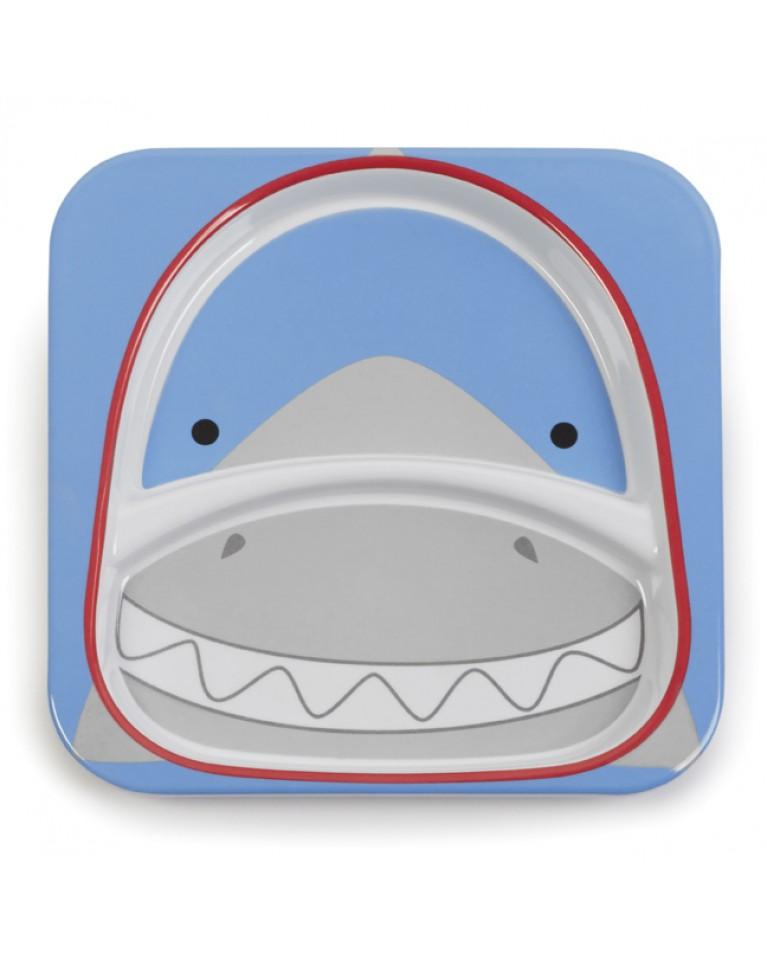 skip hop talerz zoo rekin