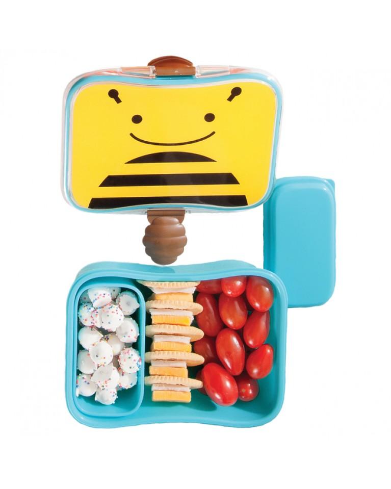 skip hop pudełko śniadaniowe pszczółka