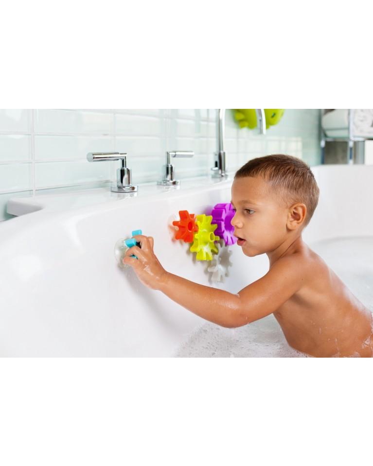 zabawka do kąpieli zębatki