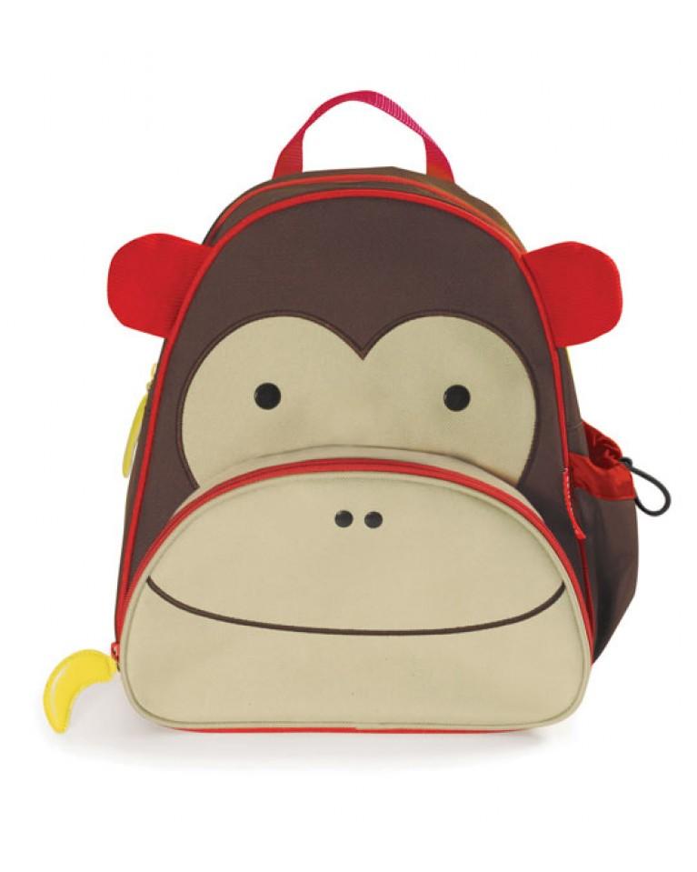 skip hop plecak małpa