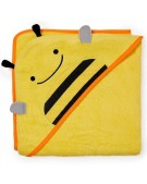 skip hop ręcznik z kapturkiem zoo pszczoła