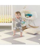 skip hop mata playspot grey cream geo
