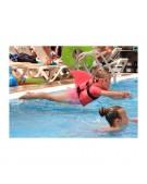 płetwa do nauki pływania różowa
