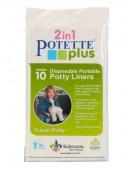 10 zapasowych wkładów do potette plus