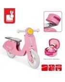 Rowerek biegowy różowy Scooter Mademoiselle