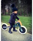 rowerek biegowy drewniany space