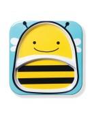 skip hop talerz pszczółka
